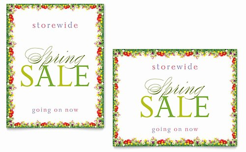 Spring Templates Word Publisher Powerpoint