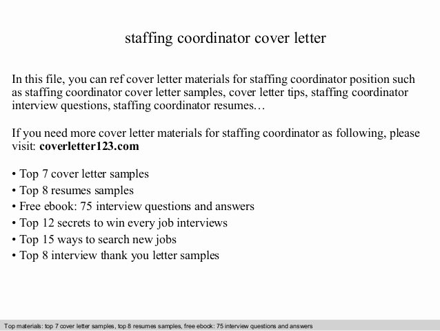 Employment Consultant Cover Letter Samples – Latter Example ...