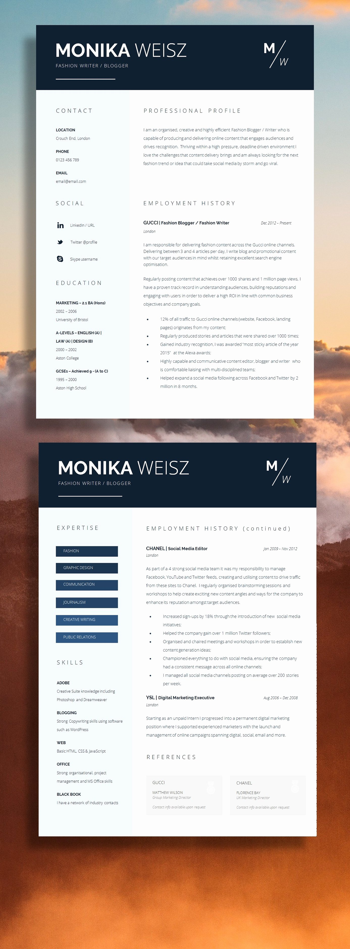 Stand Out Resume Templates Stand Out Resume Templates