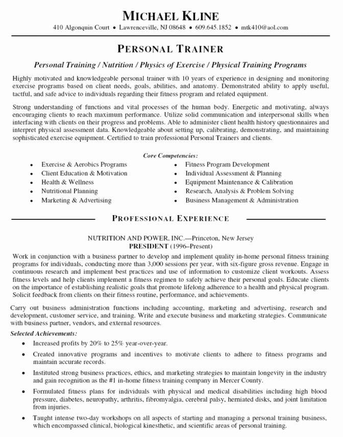 Standard Resume format 2016