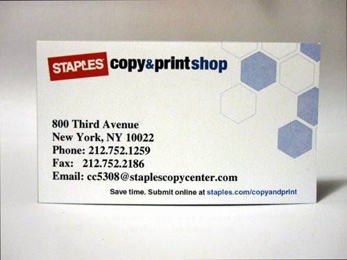 Staples Business Card Staples Business Cards Templates
