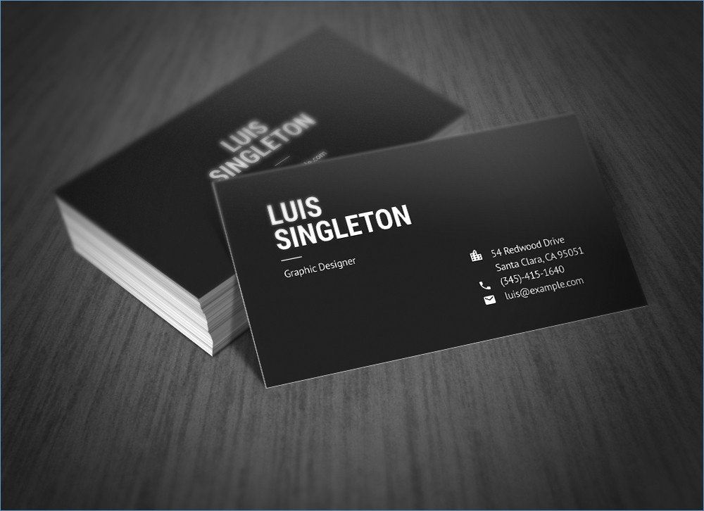 Staples In Store Business Cards Business Card Design for