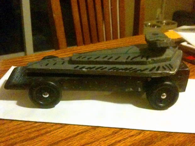 Star Wars Cars In the Pinewood Derby – Boys Life Magazine