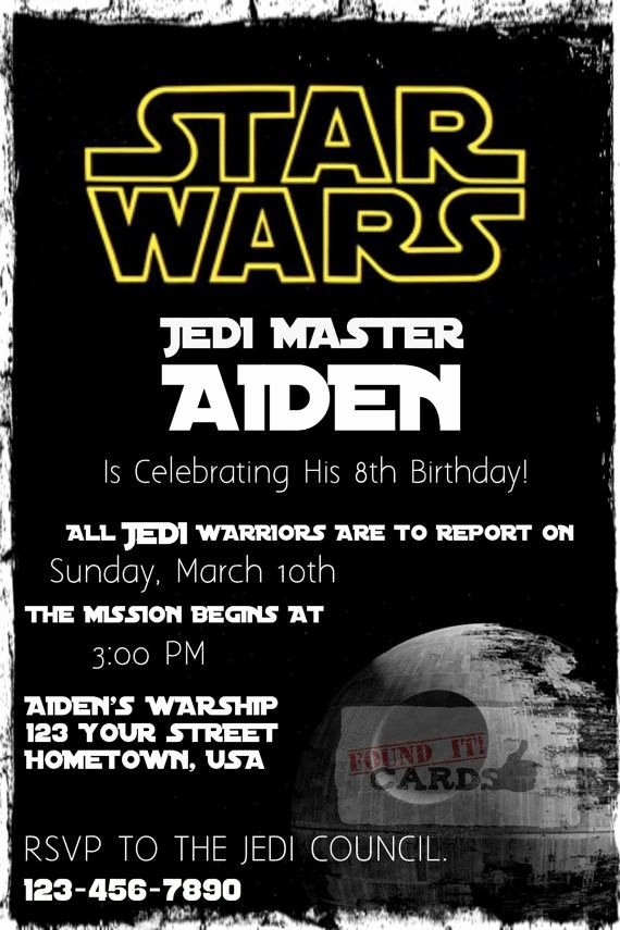 Star Wars Geburtstagskarte Zum Ausdrucken