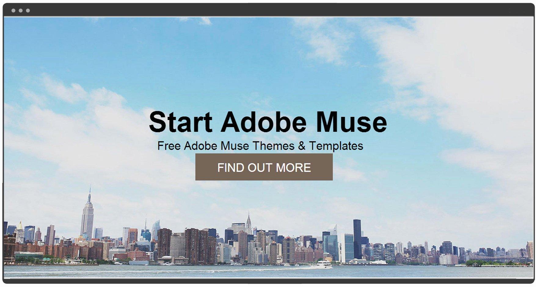 Start Muse Free Muse Template – Free Adobe Muse Templates