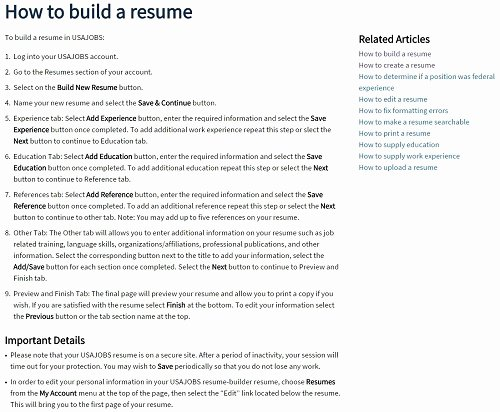 Step by Step Resume Builder Driverlayer Search Engine