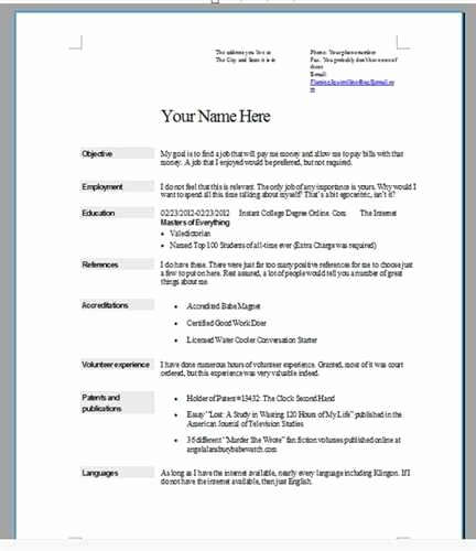 Step by Step Resumes by Step How to Do A Resume for A Job