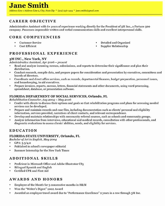 Steps to Writing A Resume Best Resume Gallery