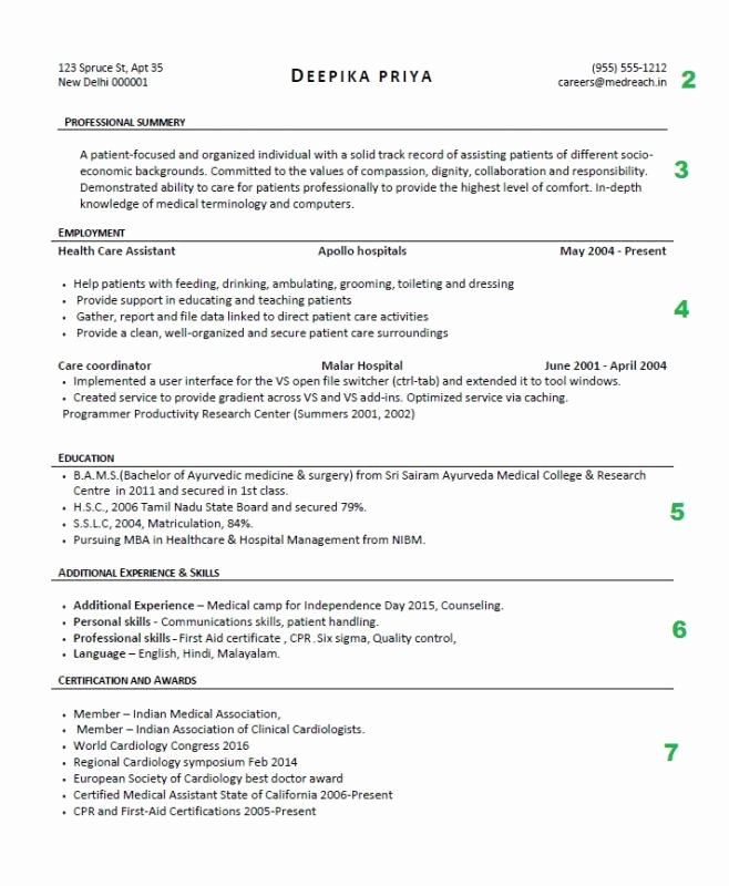 steps to writing a resume