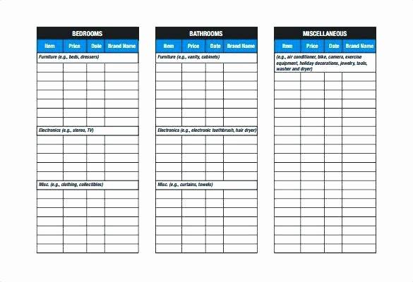 Store Checklist Template – Arabnormafo