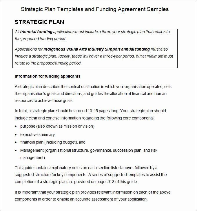 Strategic Planning Process Template 4 Free Word Pdf