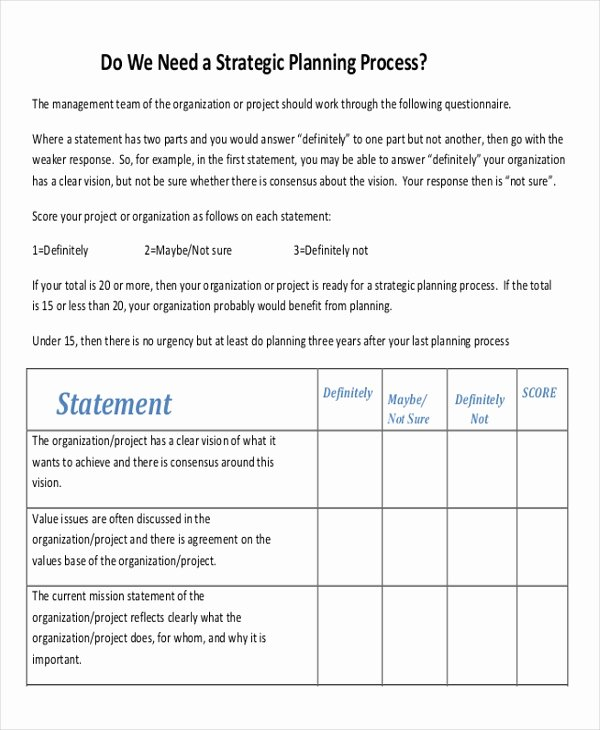 Strategic Sales Plan Templates 6 Free Sample Example