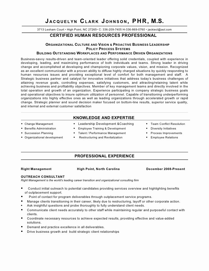 Strategic Thinker Business Partner Human Resource