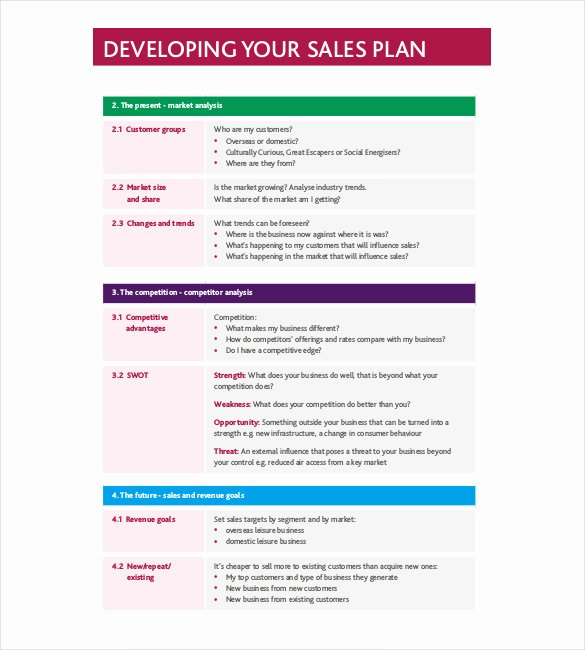 Strategy Template – 19 Free Word Excel Pdf Document