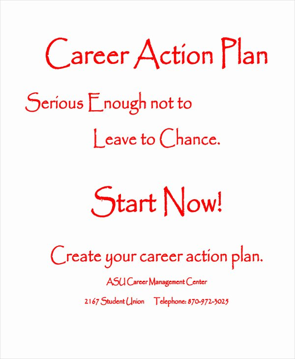 Student Action Plan Template 8 Free Word Pdf format