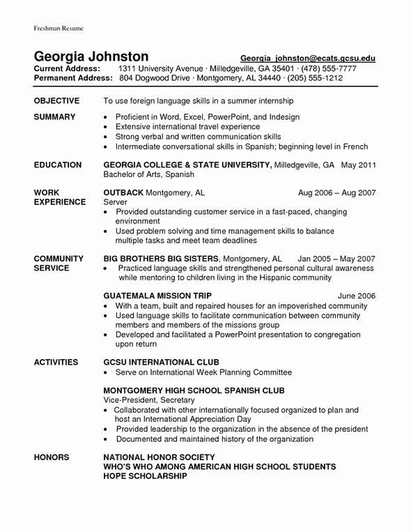 Student athlete Resume Cover Letter Samples Cover