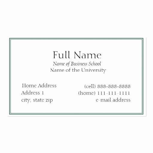 Student Business Cards 5 000 Student Busines Card