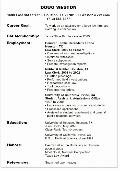 Student Resume Summary Best Resume Collection