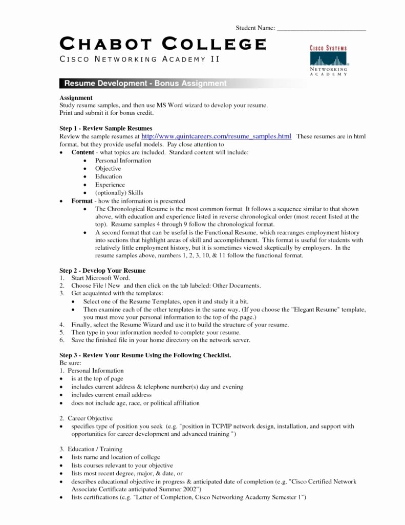 Student Resume Template Microsoft Word Examples 2017