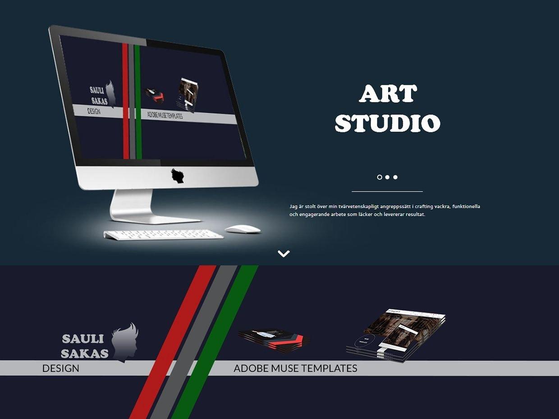 Studio S S Adobe Muse Template