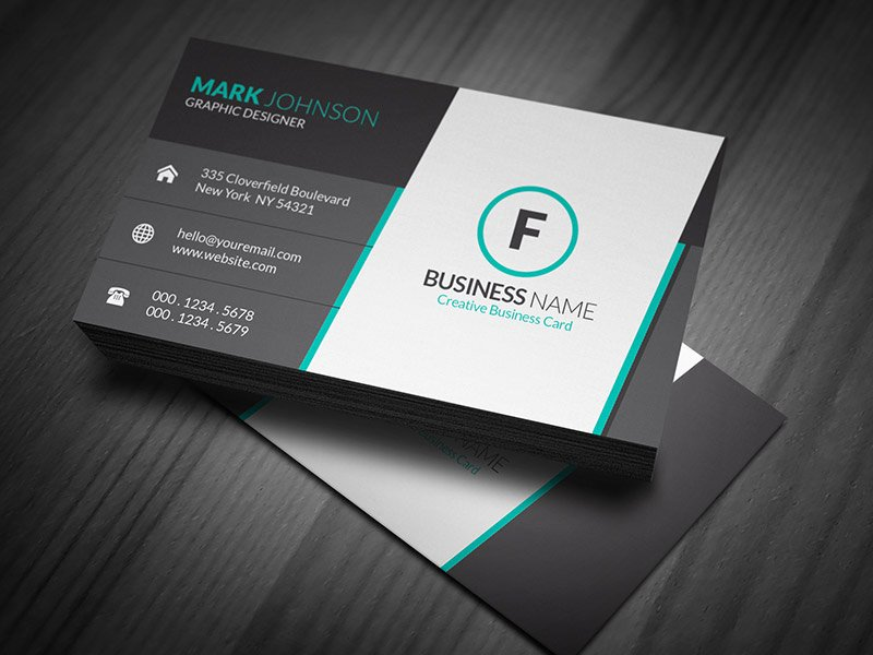 Stunning Corporate Business Card Template Free Download