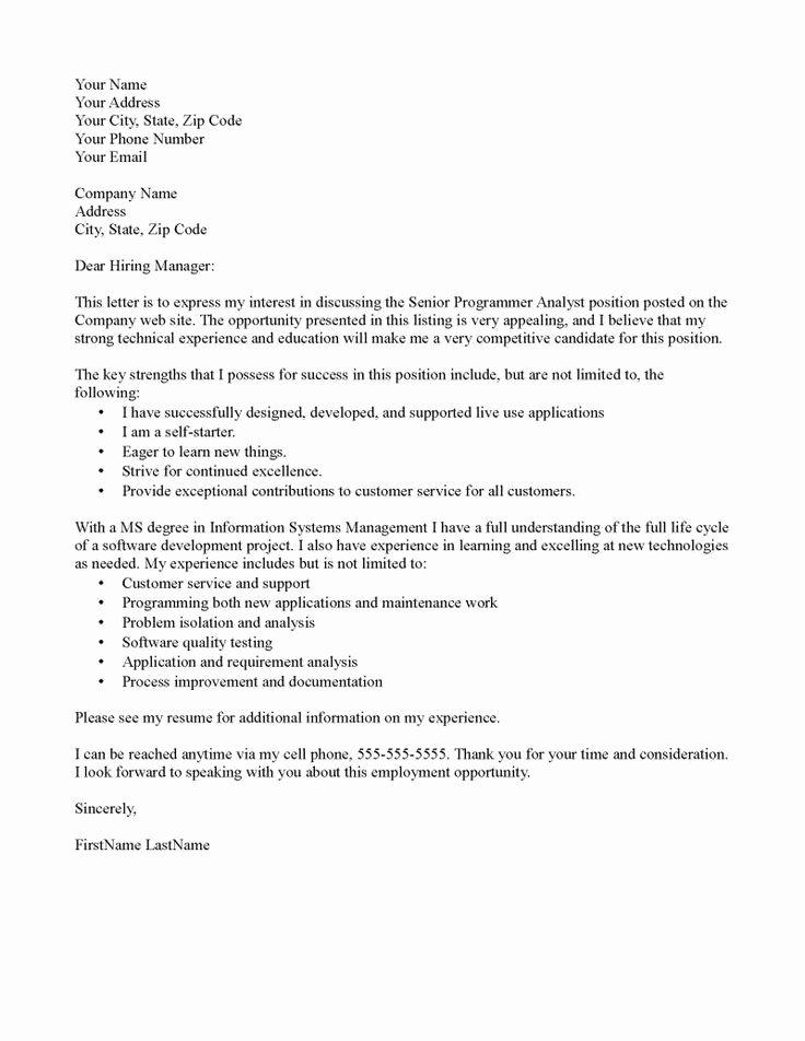 Substitute Teacher Cover Letter