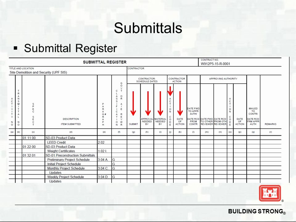 Succeeding On Usace Construction Contracts Ppt