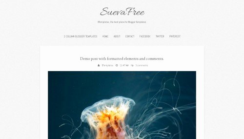 Suevafree Blogger Template Btemplates
