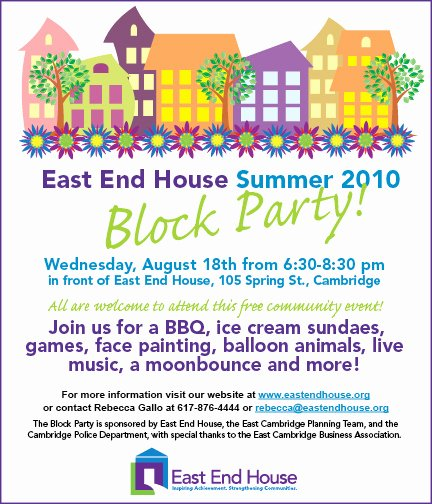 Summer Block Party Games Food and Fun