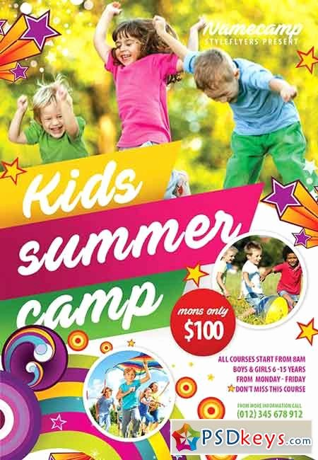 Summer Camp Brochure Template Free Download Csoforumfo