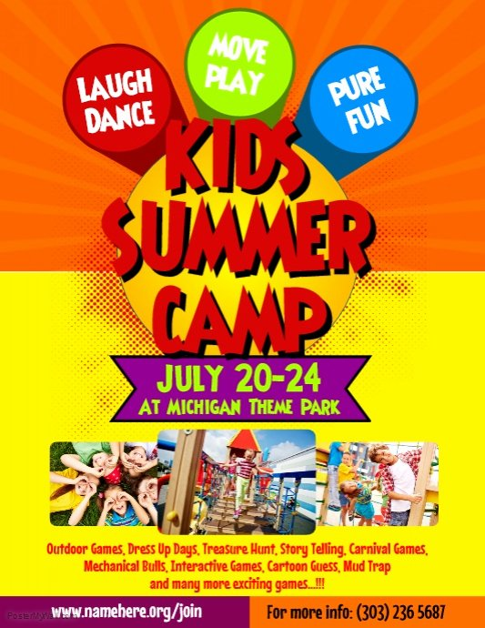 Summer Camp Flyers Related Keywords Summer Camp Flyers