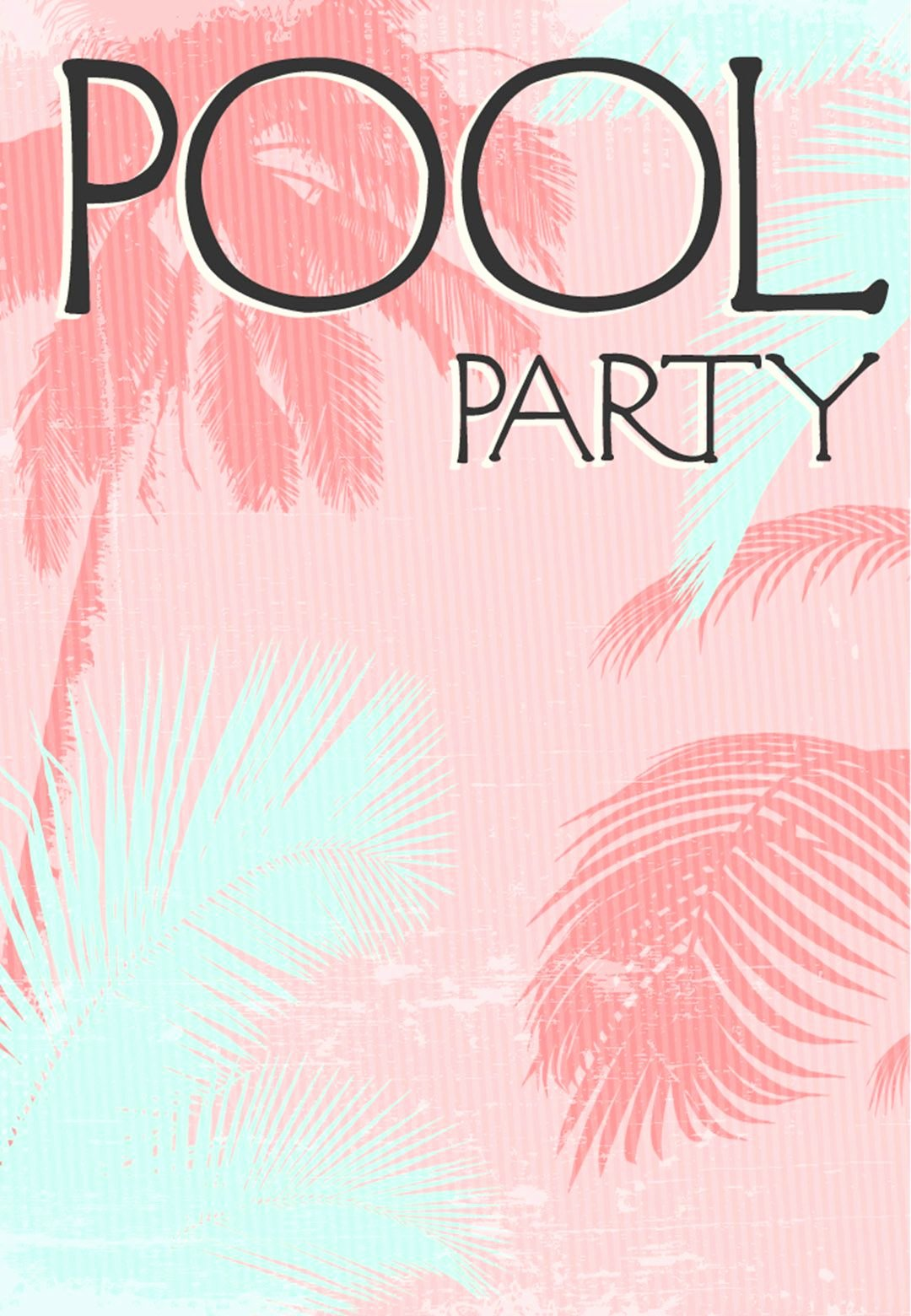 Summer Party Invitation Free Printable Fun In the Sun