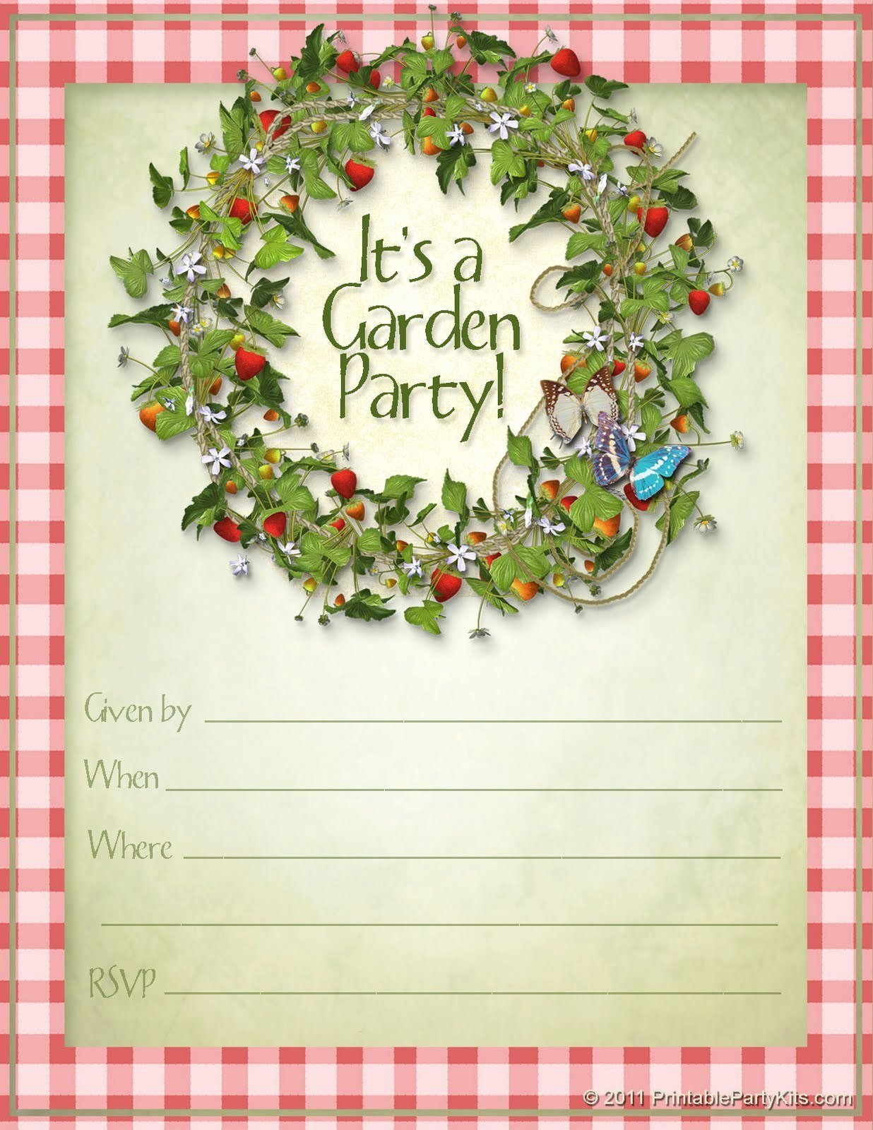Summer Party Invitation Template Summer Block Party