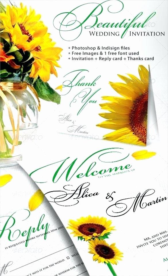 Sunflower Wedding Invitations with to Prepare Inspiring