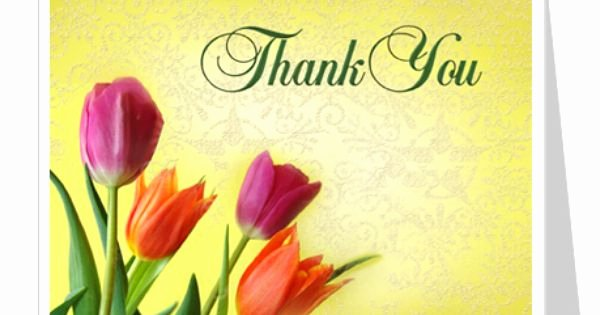 Sunny Thank You Card Template 2up Layout Edit with