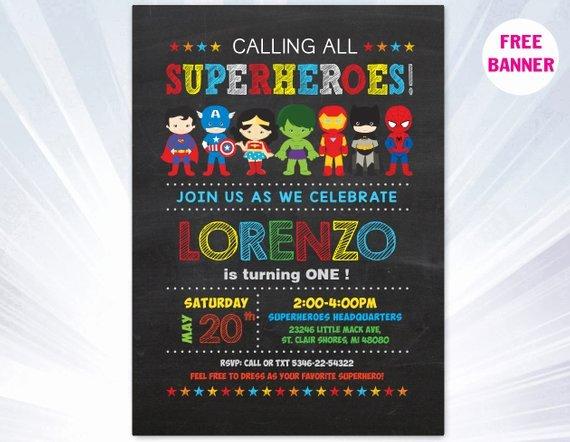 Super Hero Invitation Superhero Invitation Templates