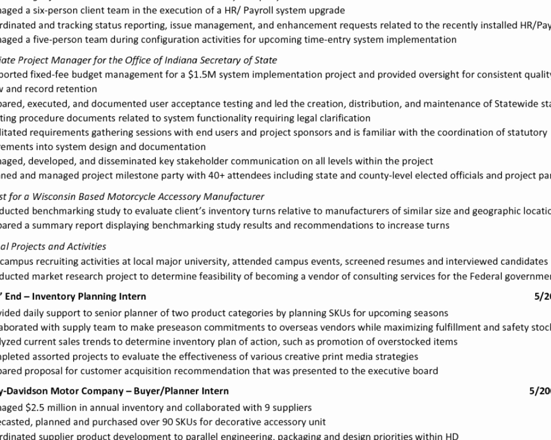 Supply Chain Consultant Cover Letter Sarahepps
