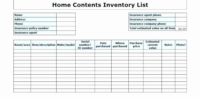 Supply Checklist Template – Bestuniversitiesfo