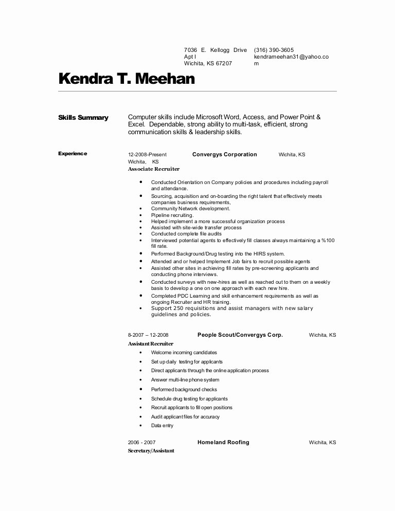 Surgical Tech Resume Sample F Resume
