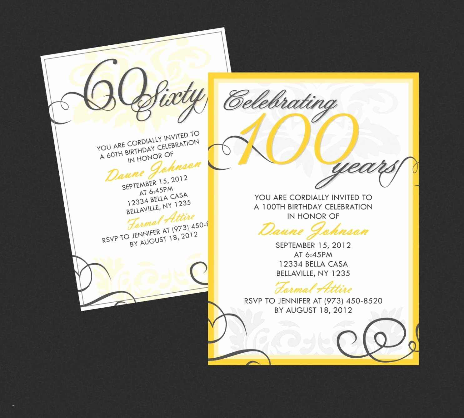 Surprise 60th Birthday Invitation Templates Free Fresh