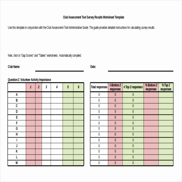 Survey Results Templates – 22 Free Word Excel Pdf