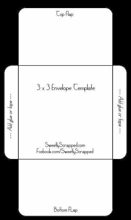 Sweetly Scrapped Free Printable Envelopes