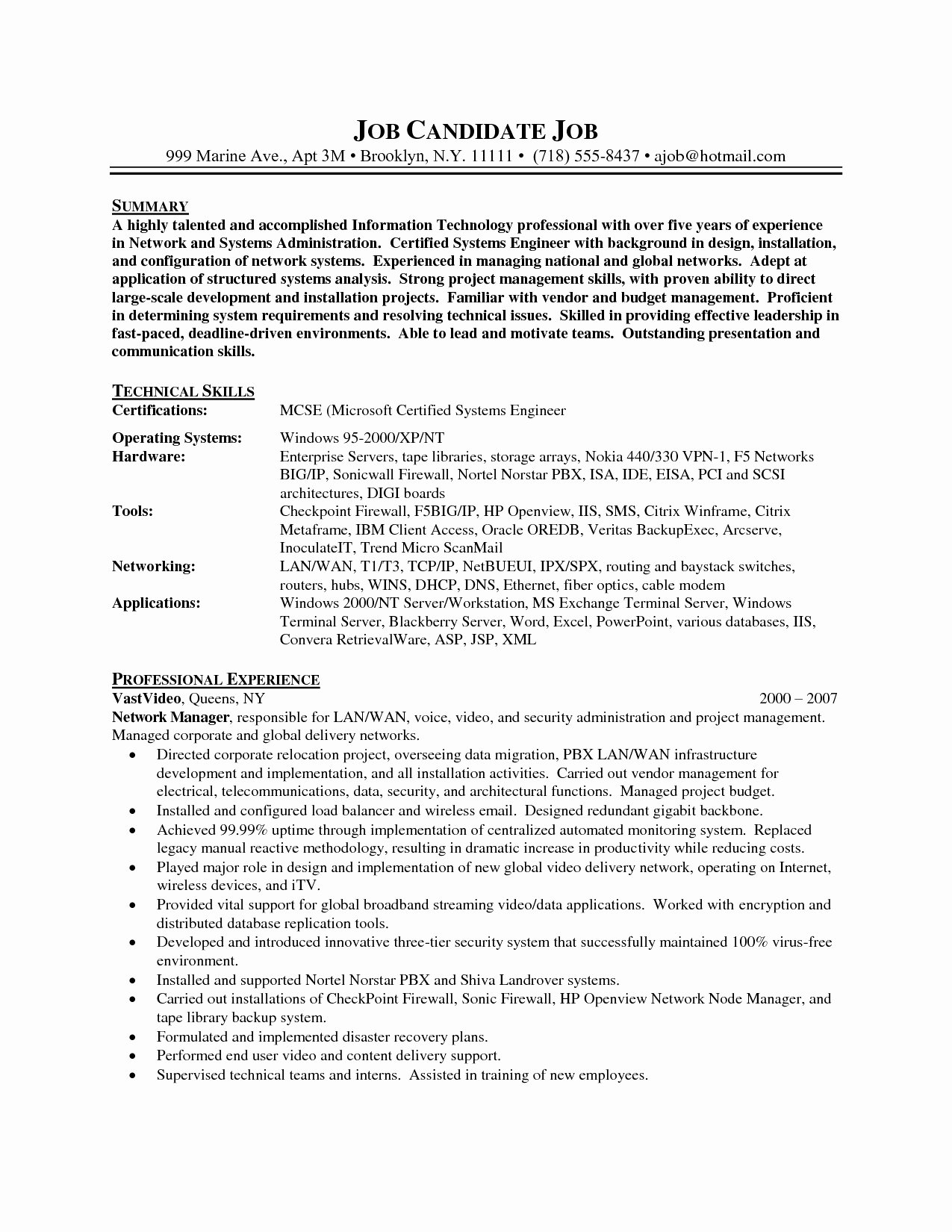Systems Administrator Cover Letter Sarahepps