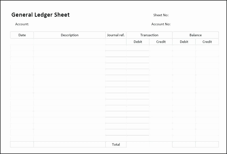 T Accounts Excel Template How to Make T Account In Excel