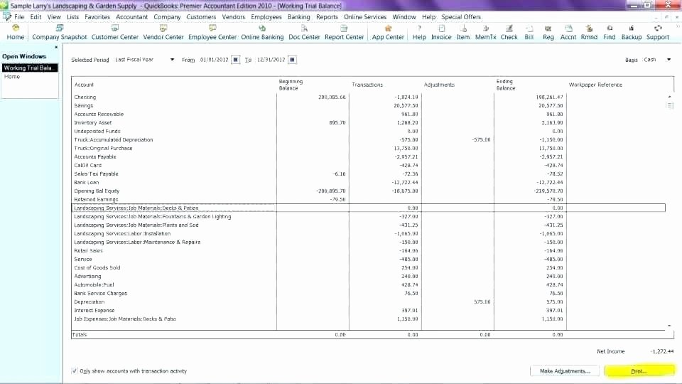 T Accounts Template Excel Size Spreadsheet