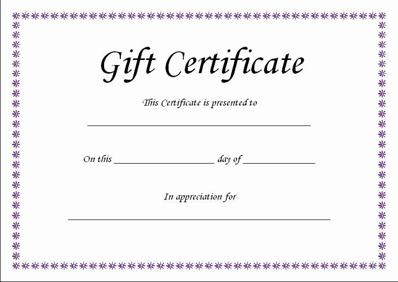 T Certificate Template Blank