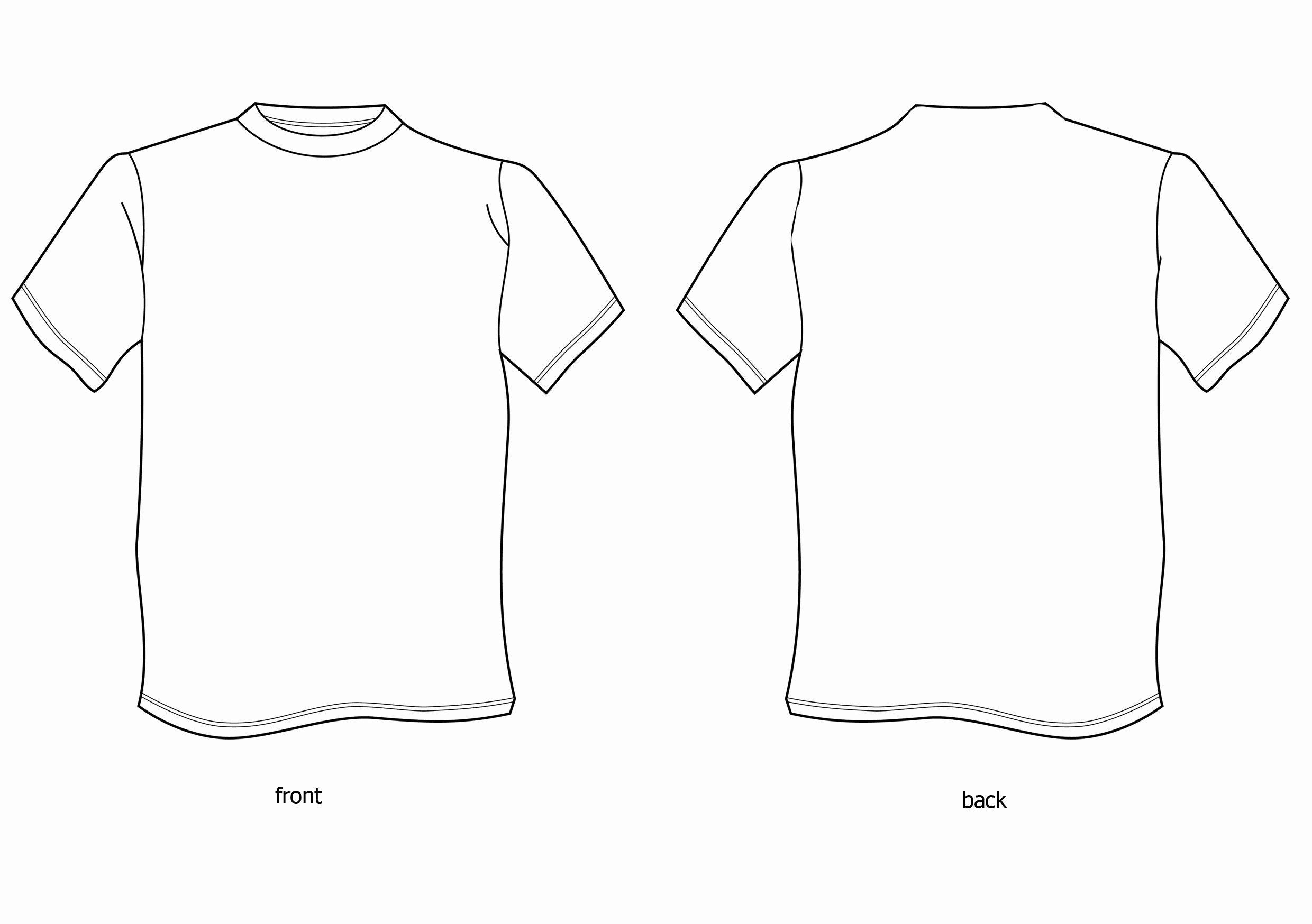 T Shirt Design Template Cliparts