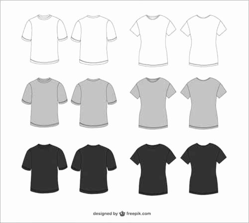 T Shirt Design Templates 38 Sets Free Editable Vectors