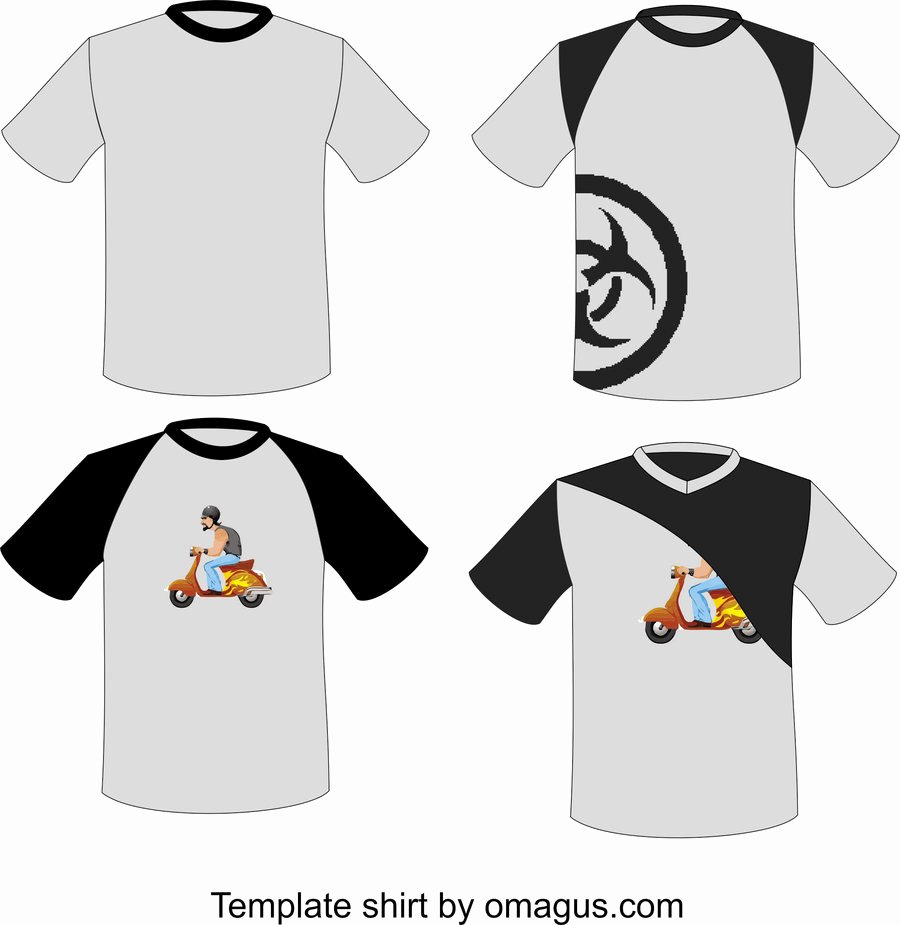 T Shirt Template Design by Omagus On Deviantart