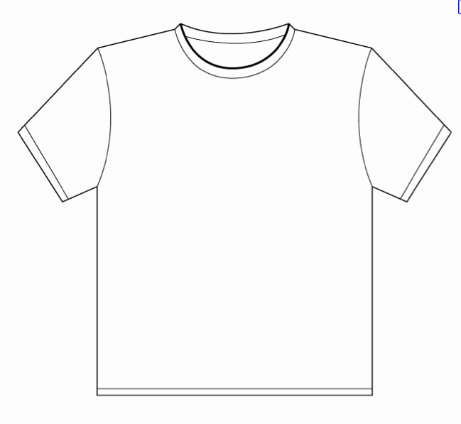T Shirt Template for Publisher Beautiful Template Design
